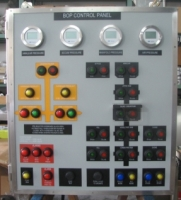 Driller Console and BOP Control Panel